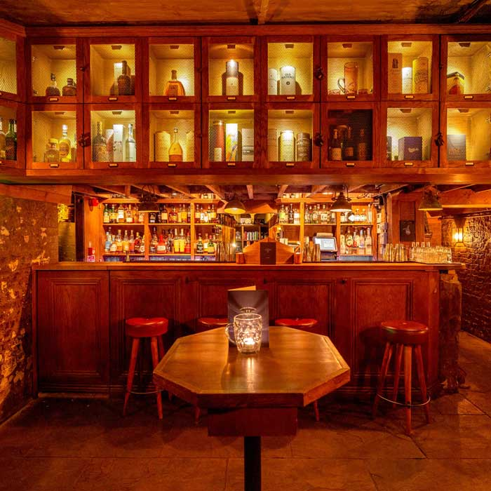 Picture of the cellar bar, Kingsland Road east London